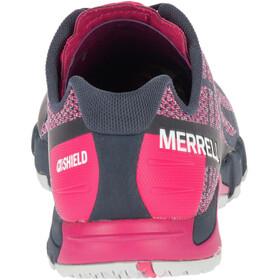 Merrell Bare Access Flex Shield Schoenen Dames, neon vapor